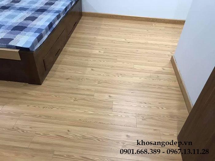 Thi công sàn gỗ Vfloor V1205