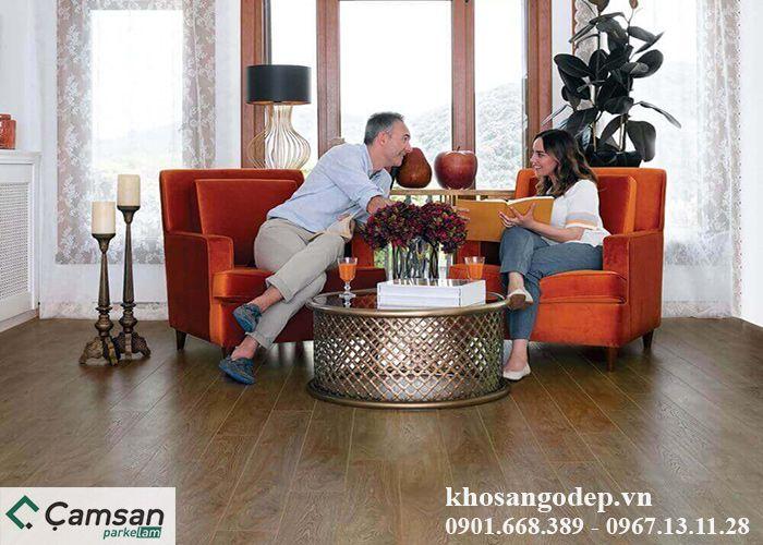 Sàn gỗ Camsan 12mm 4005