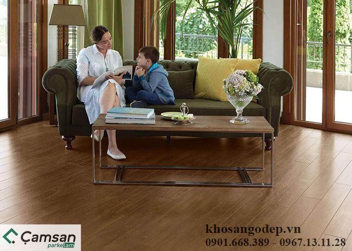 Sàn gỗ Camsan 4500 12mm