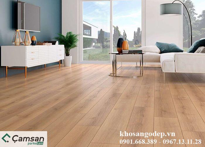 Sàn gỗ Camsan 8mm 625