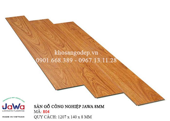 Sàn gỗ Jawa cốt xanh 804