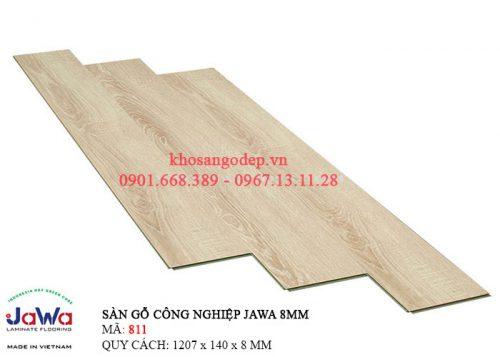 Sàn gỗ Jawa cốt xanh 811