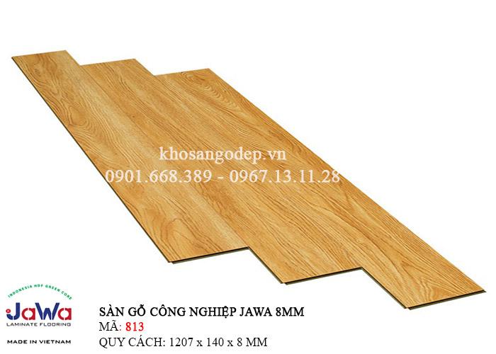 Sàn gỗ Jawa cốt xanh 813