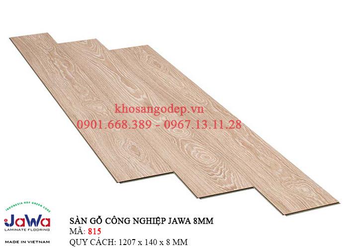 Sàn gỗ Jawa cốt xanh 815