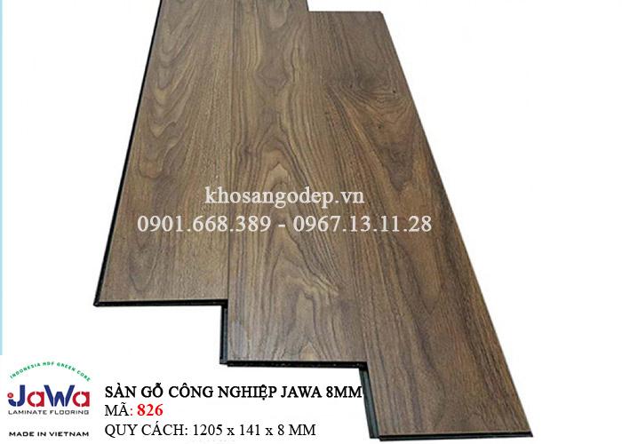 Sàn gỗ Jawa cốt xanh 826