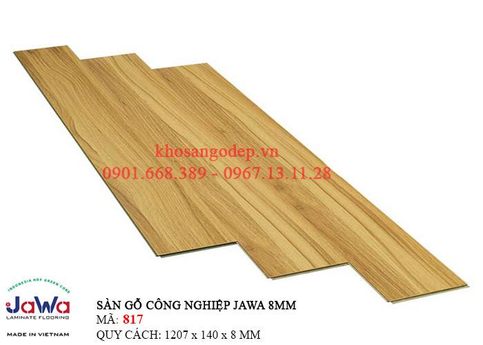 Sàn gỗ Jawa cốt xanh 817