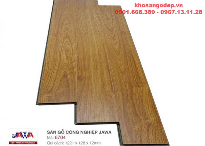 Sàn gỗ Jawa cốt xanh 6704