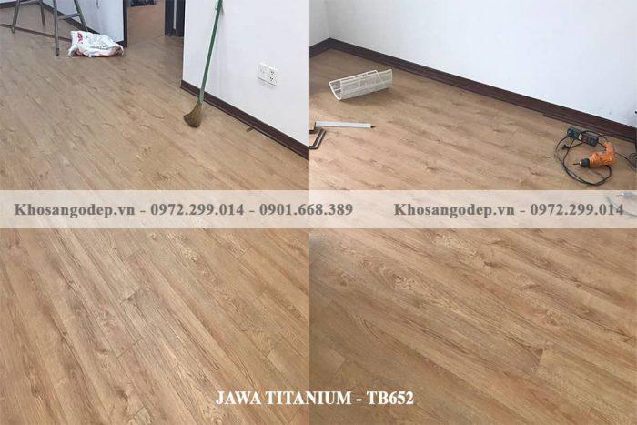 Sàn Gỗ Jawa Titanium TB 652