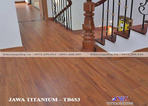 Sàn Gỗ Jawa Titanium TB 653
