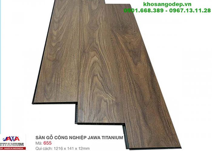 Sàn gỗ Jawa Titanium TB 655
