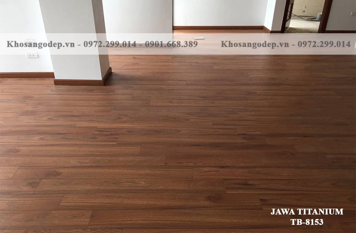 Sàn Gỗ Jawa Titanium TB8153