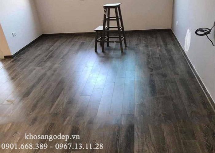 Thi công sàn gỗ jawa cốt xanh 6708