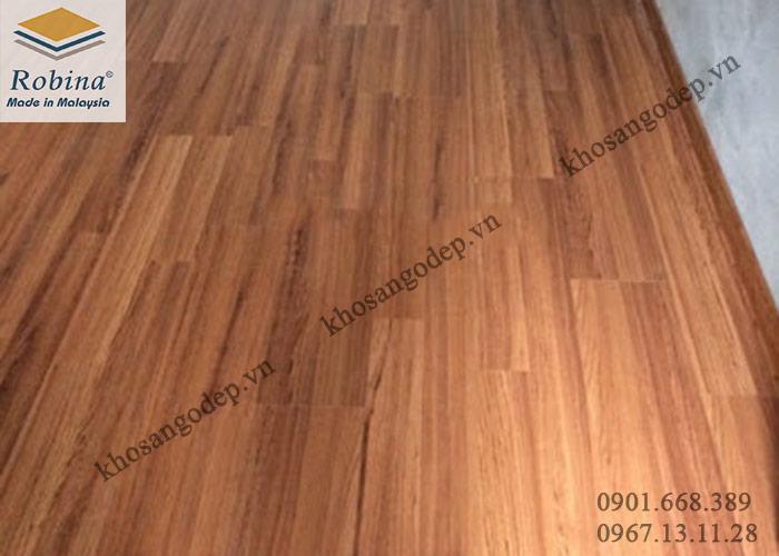 Sàn gỗ Robina 12mm tại Bắc Ninh