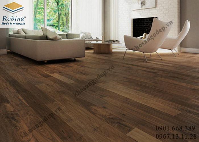 Sàn gỗ Robina 12mm tại Hưng Yên