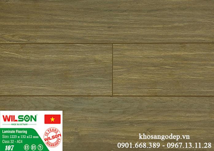 Sàn gỗ Wilson 12mm 107 tại Hà Nội