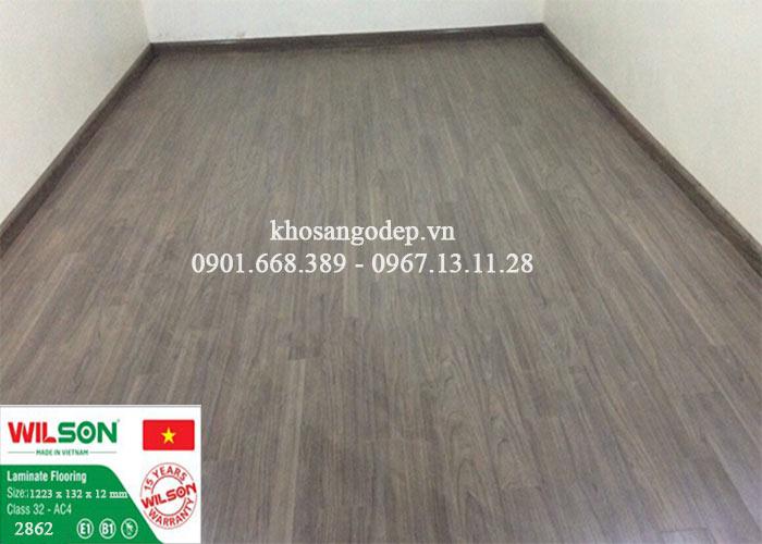 Sàn gỗ Wilson 12mm 2862 tại Nam Định