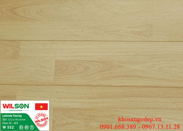 Sàn gỗ Wilson W552 tại Hà Nội