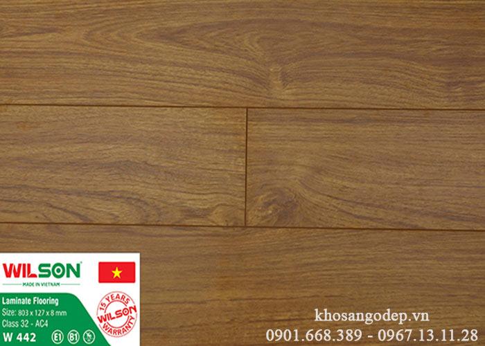 Sàn gỗ Wilson W442 tại Hà Nội