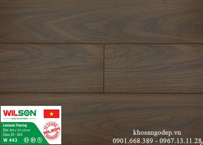 Sàn gỗ Wilson W443 tại Hà Nội