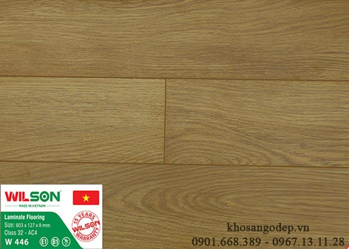 Sàn gỗ Wilson W446 tại Thanh Hóa