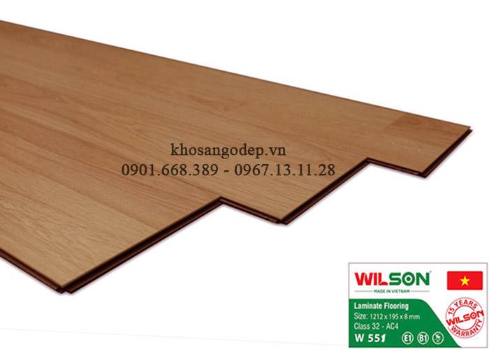 Sàn gỗ Wilson 8mm W551