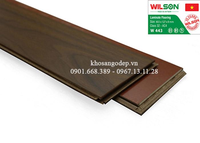 Sàn gỗ Wilson 8mm W443