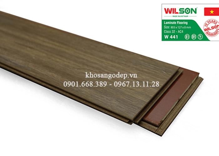 Sàn gỗ Wilson W441 tại Hà Nội