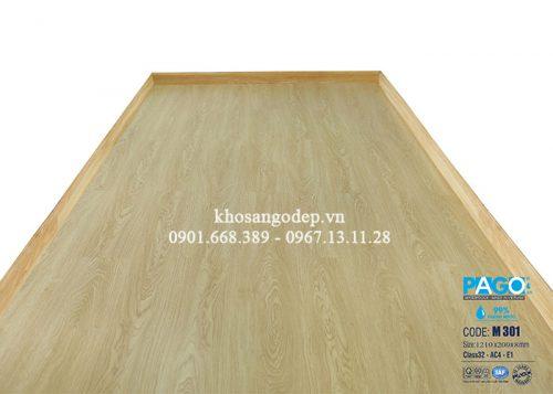 Sàn gỗ Pago cốt xanh 8mm M301