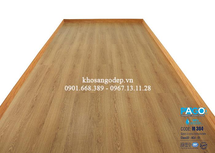 Thi công sàn gỗ Pago M304 tại Thanh Xuân