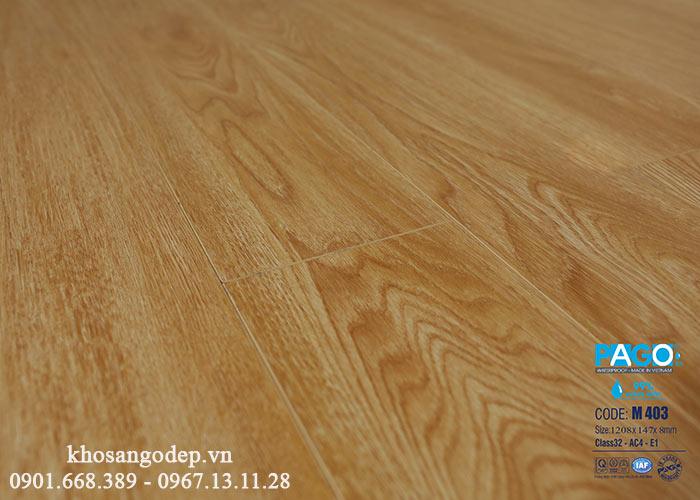 Sàn gỗ Pago M403