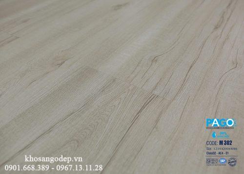 Sàn gỗ Pago cốt xanh 8mm M302