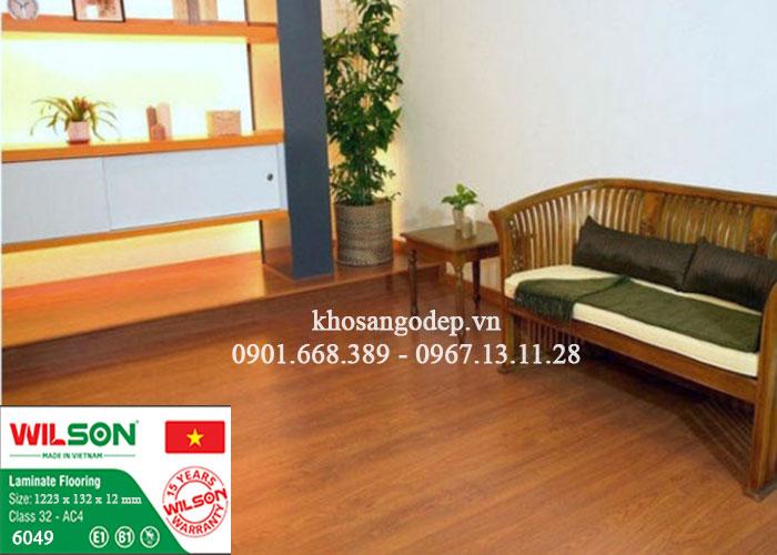 Sàn gỗ Wilson 6049 tại Hà Nam