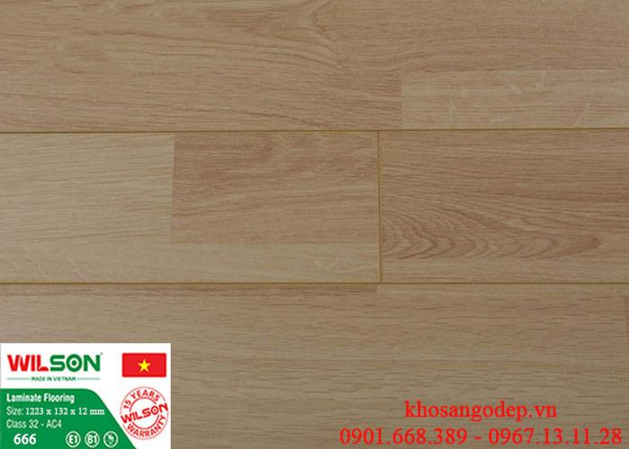 Sàn gỗ Wilson 12mm