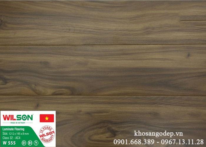 Sàn gỗ Wilson 8mm W555
