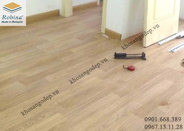 Sàn gỗ Robina O28 tại Hoàng Mai Hà Nội