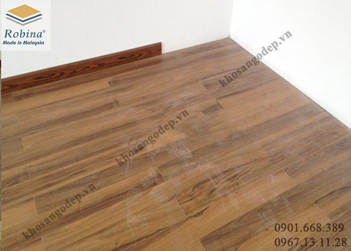 Sàn gỗ Robina 12mm tại Kim Mã Hà Nội