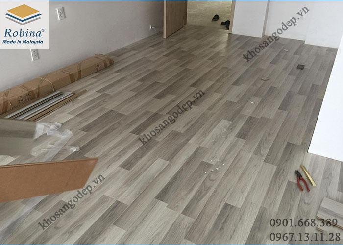 Sàn gỗ Robina 12mm tại Quốc Oai Hà Nội
