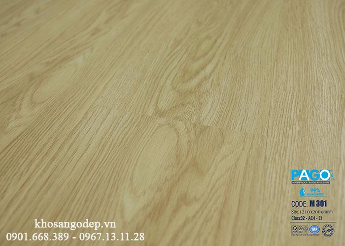 Sàn gỗ Pago cốt xanh M301