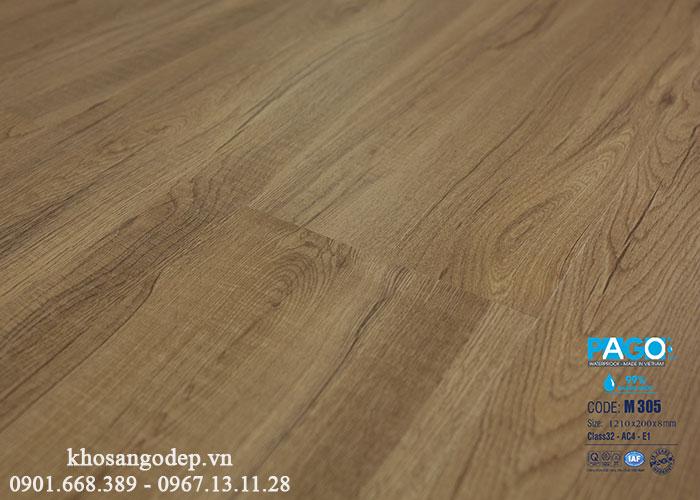 Sàn gỗ Pago cốt xanh 8mm M305