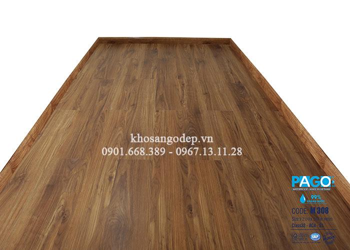Thi công sàn gỗ Pago M308 tại Đống Đa
