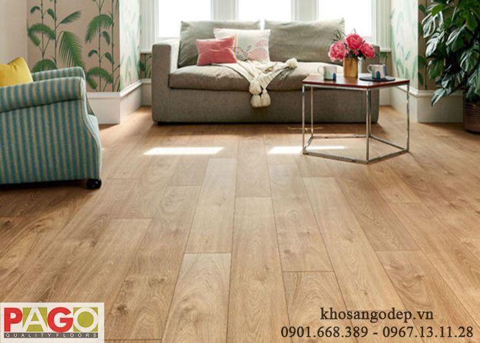 Sàn gỗ Pago cốt xanh 8mm