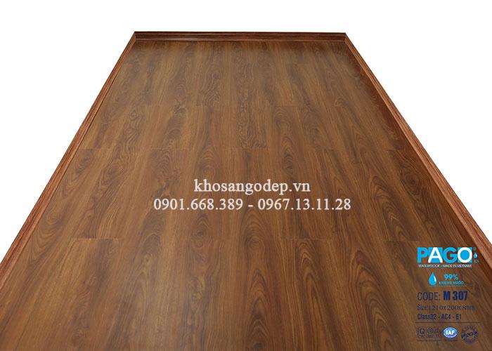 Thi công sàn gỗ Pago M307