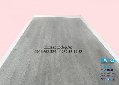 Thi công sàn gỗ Pago M404 tại Hạ Long