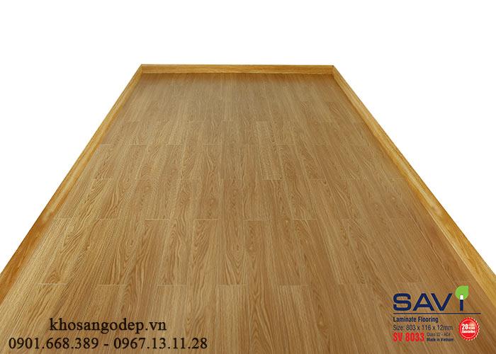 Sàn gỗ Savi SV8033 tại Lào Cai