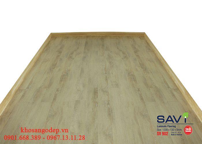 Thi công sàn gỗ Savi SV902 tại Phú Thọ