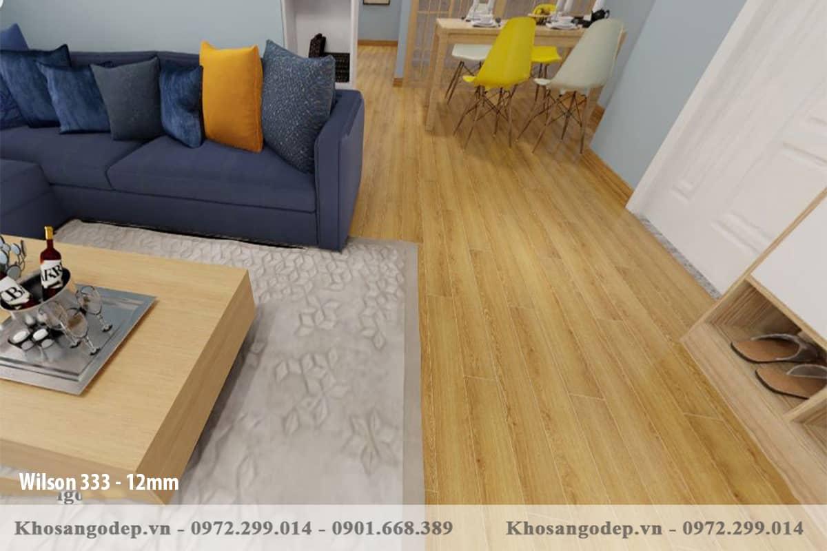 Sàn gỗ Wilson 12mm 333