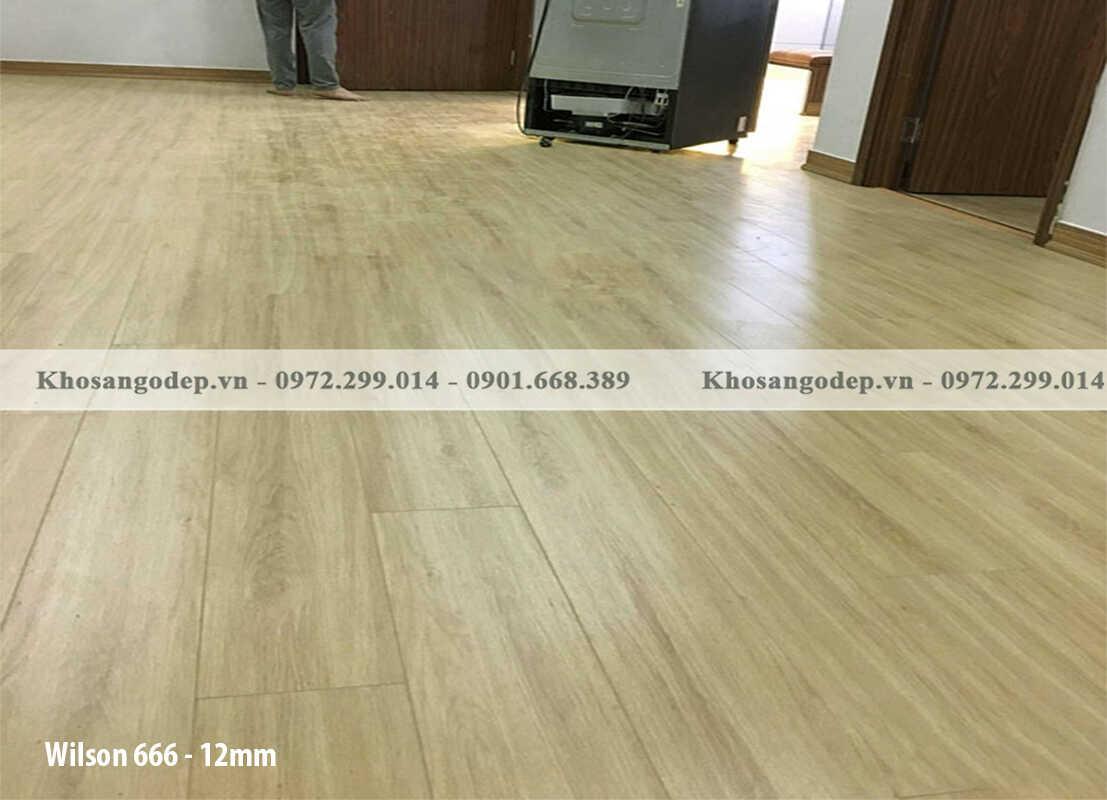 Sàn gỗ Wilson 666