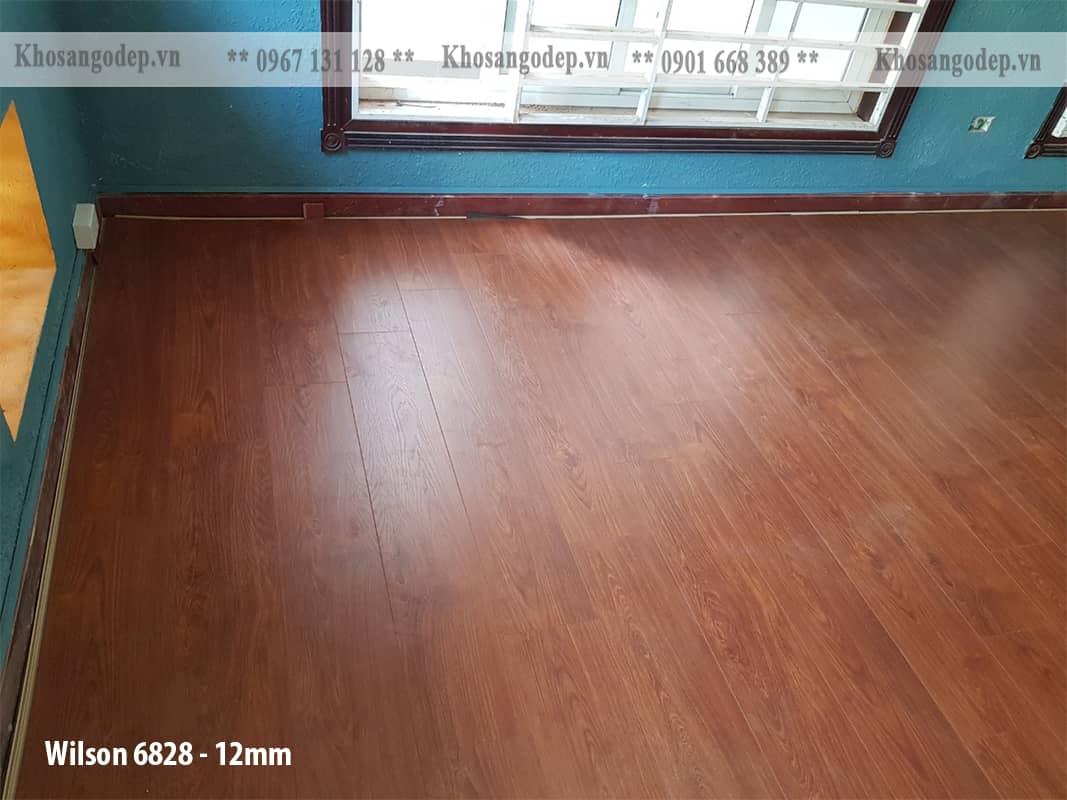 Sàn gỗ Wilson 12mm 6828