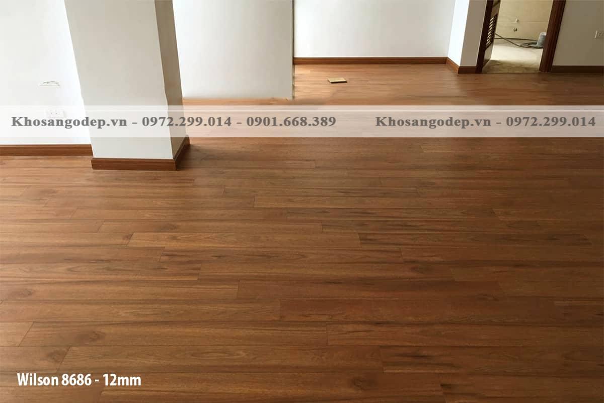 Sàn gỗ Wilson 12mm 8686
