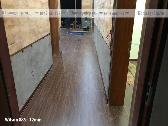 Sàn gỗ Wilson 12mm 885